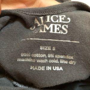 Alice + Ames Dresses - Alice + Ames Slate Gray Ballet Dress